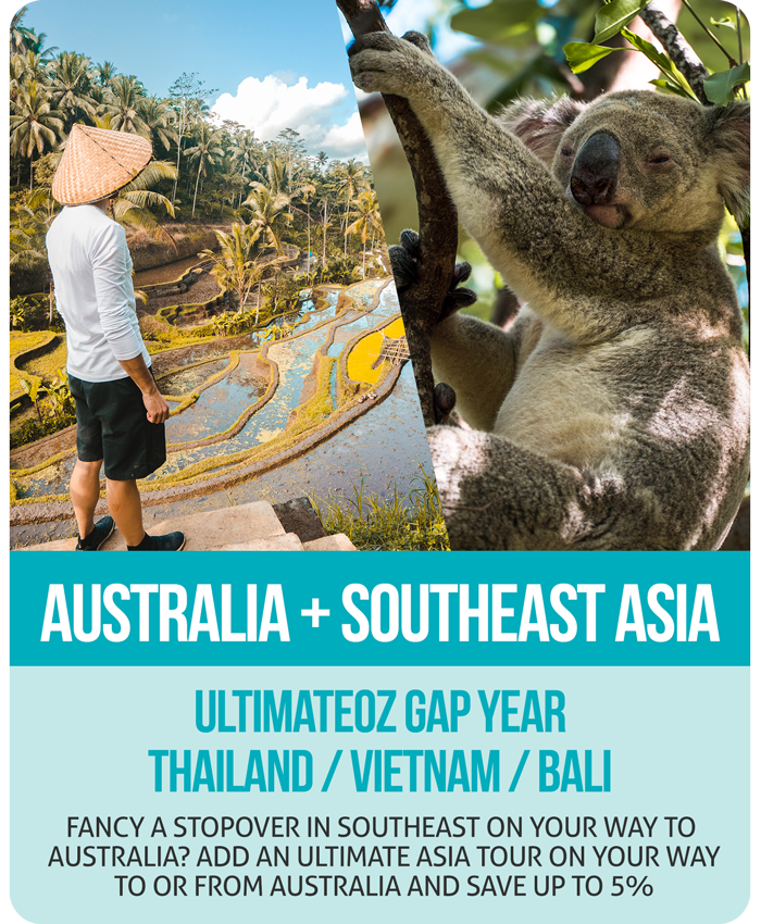 UltimateOz Gap Year + Ultimate Southeast Asia Combo