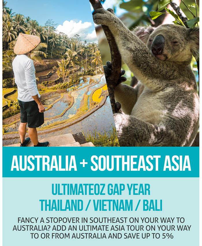 UltimateOz Gap Year + Ultimate Southeast Asia Combo