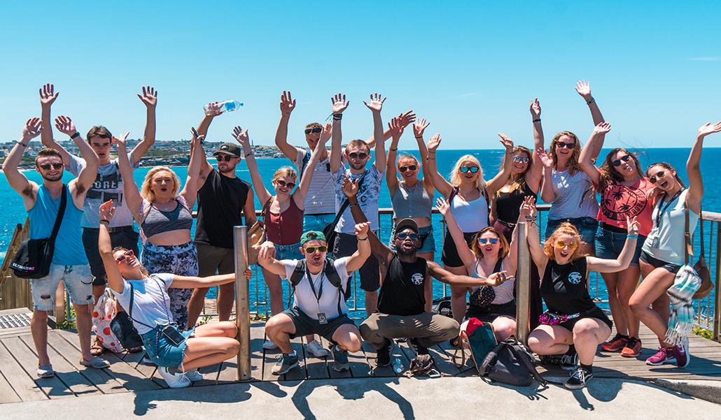 Working Holiday in Australia Sydney Beach