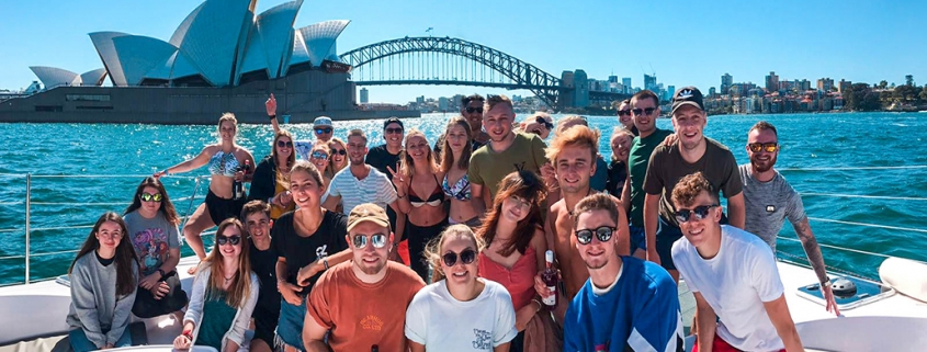Working Holiday in Australia Harbour Cruise