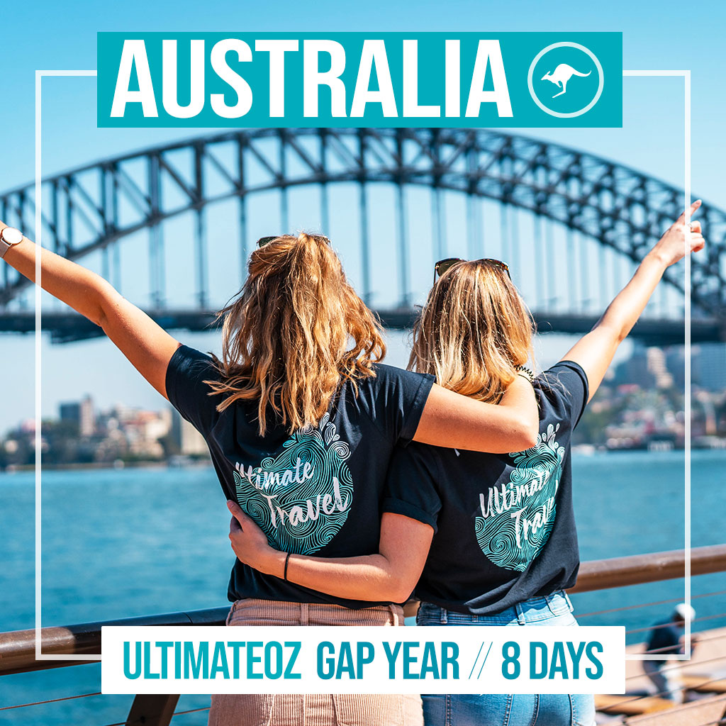 UltimateOz Gap Year arrival package