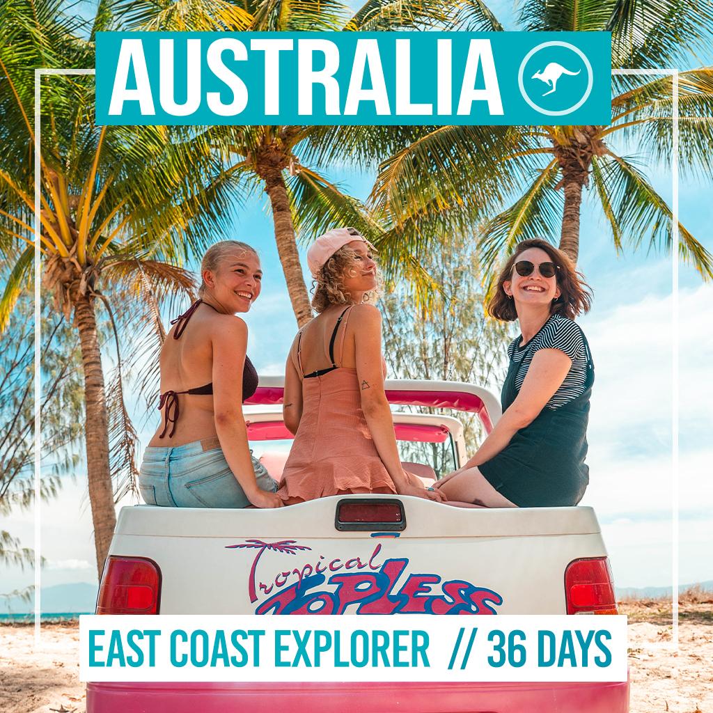 East Coast Explorer Group Tour