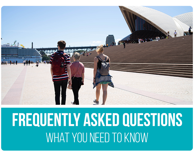 Australia Working Holiday Frequently Asked Questions