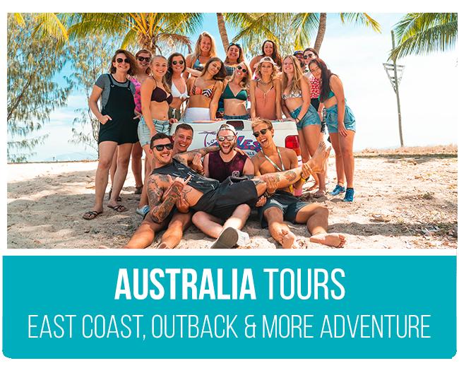 Australia Working Holiday Australia Group Tours
