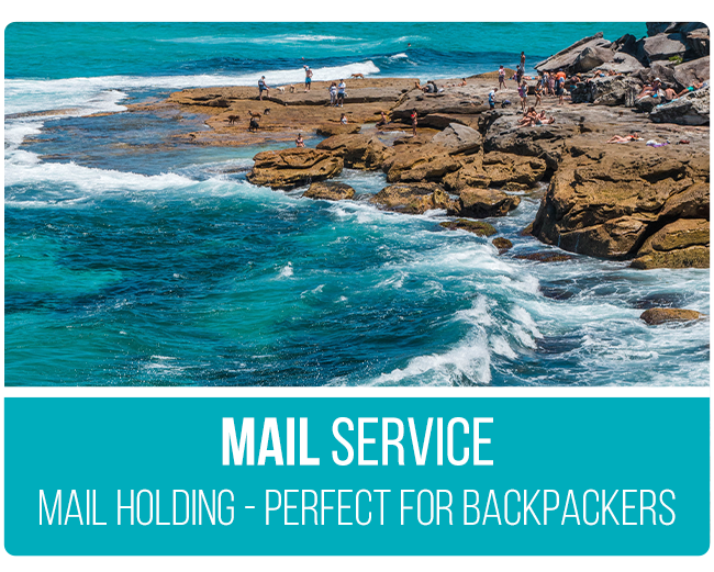 Australia Working Holiday Mail Service