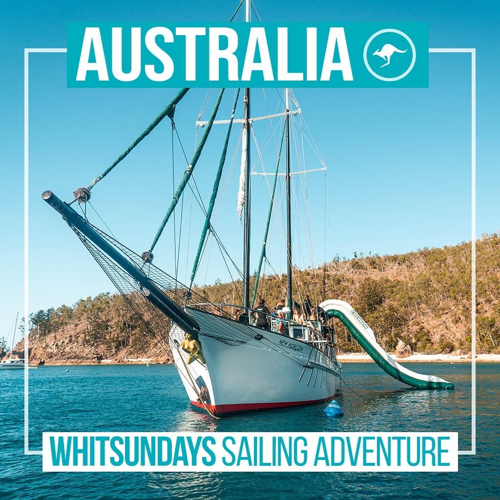 Ultimate Travel Group Tours Whitsunday Sailing Adventure