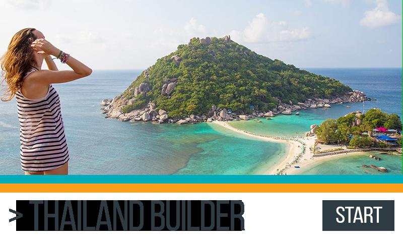 Thailand Itinerary Builder