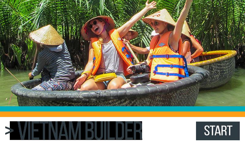 Vietnam Itinerary Builder