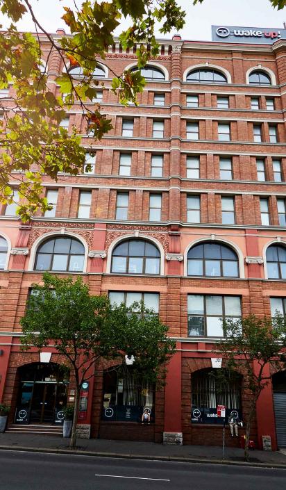 Gap Year Australia Sydney - Exterior Hostel